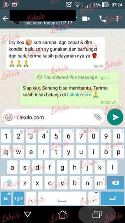 testimoni kepuasan pelanggan lakulo.com 1