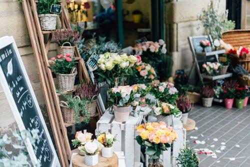 jual bunga hias (florist)
