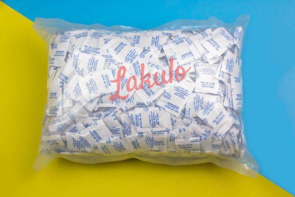 Silica gel putih food grade lakulo