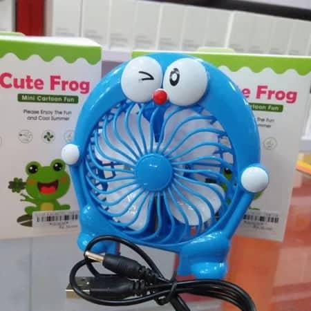 kipas angin genggam cute frog