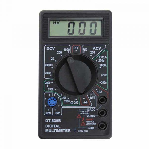 spesifikasi multimeter dt-830b