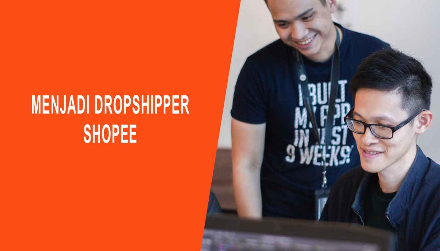 menjadi dropshipper shopee