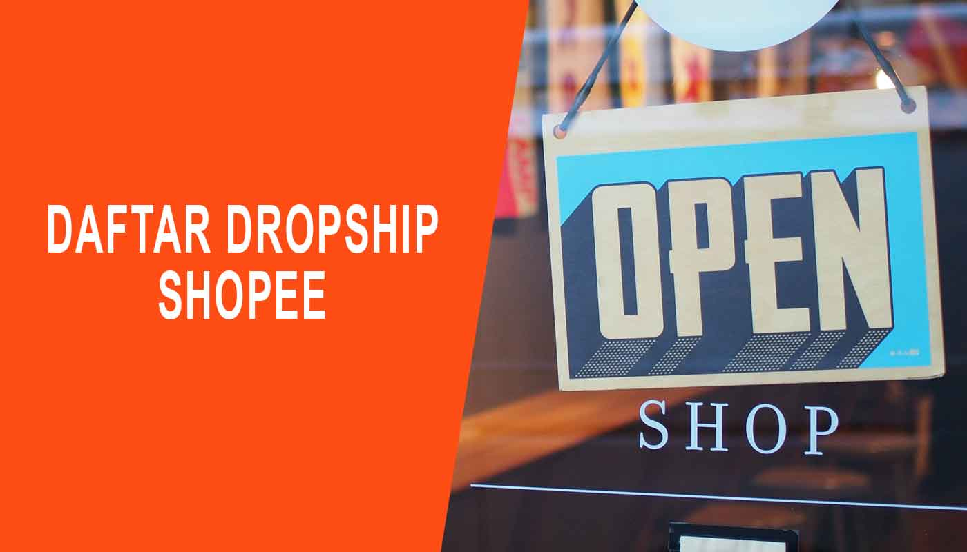 daftar dropship shopee